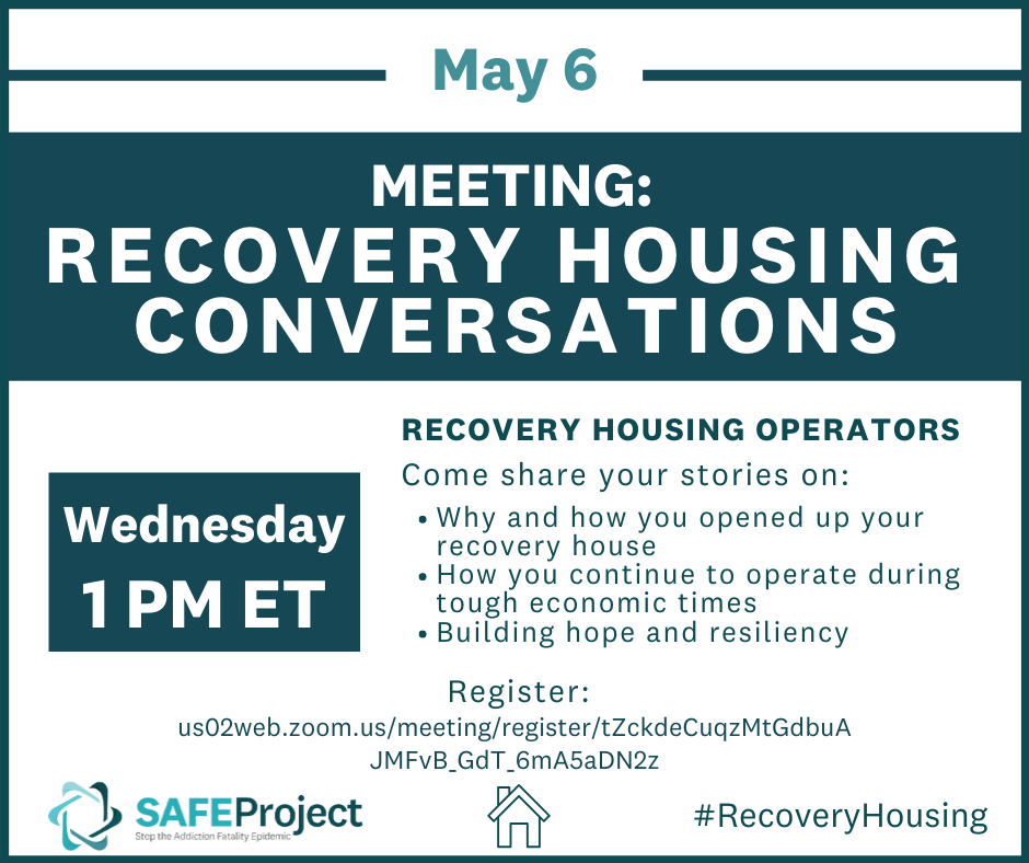 Recovery Housing Meeting