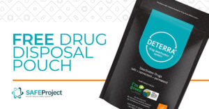 Deterra free drug disposal pouch